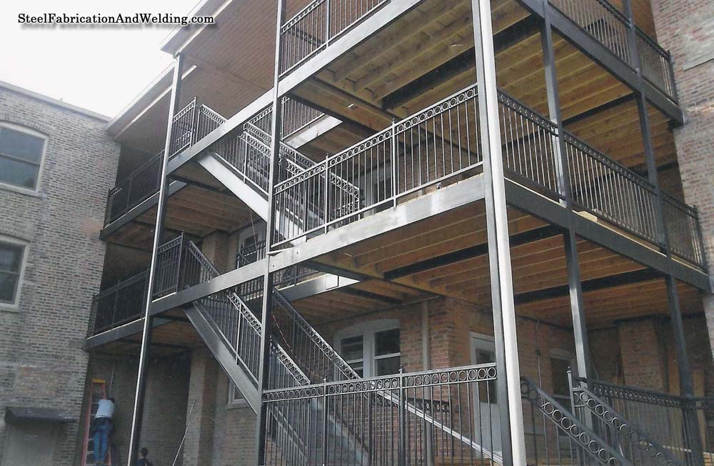 Stairs Steel Fabrication And Welding
